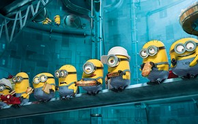 2013 Despicable Me Minions wallpaper