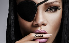 Rihanna Shhh Tattoo wallpaper