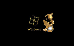 Windows Gold wallpaper