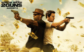 2 Guns Movie wallpaper