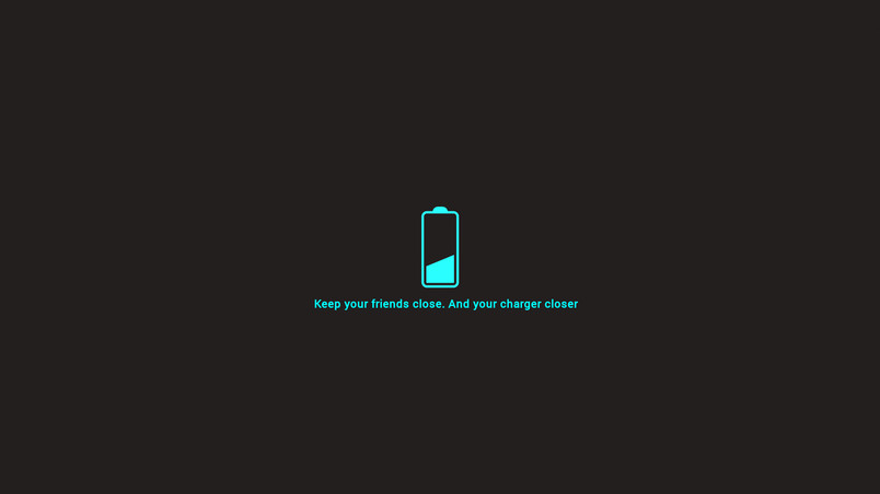 Charging Your Friends Wallpaper