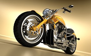 Gorgeous Yellow Chopper wallpaper