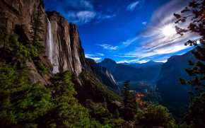 Yosemite National Park View wallpaper