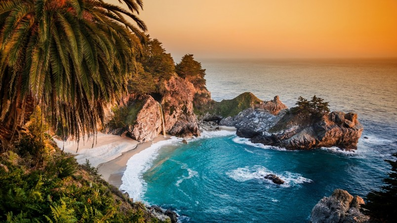 Julia Pfeiffer Burns State Park wallpaper