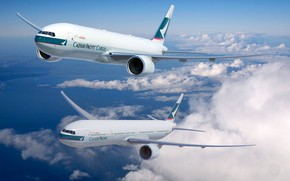 Cathay Pacific Boeing 777 wallpaper