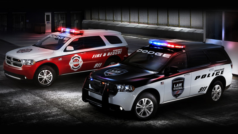 Dodge Police and Fire Cars wallpaper