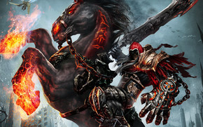 Darksiders Wrath of War Video Game wallpaper