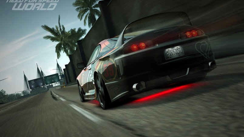 Wallpaper Toyota Supra Sports Car Need For Speed: Need For Speed World Poster HD Wallpaper