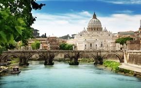 St Angelo Bridge Rome
