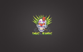 Smile and Be Happy wallpaper