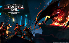 The Temple Of Elemental Evil wallpaper