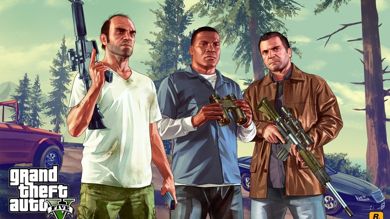 New Grand Theft Auto V wallpaper
