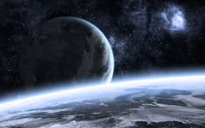Beautiful Space Landscape wallpaper