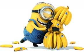 Despicable Me 2 Banana Love wallpaper