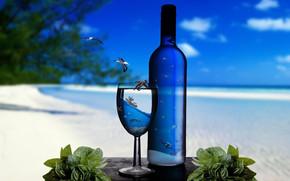 Ocean Glass Bottles