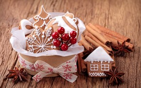 Good Sweets for Christmas wallpaper