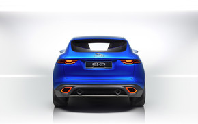 Rear of Jaguar Cx17 Concept wallpaper