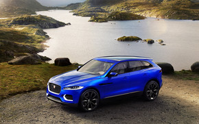 Beautiful Jaguar Crossover Concept wallpaper