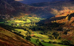 England Valley wallpaper