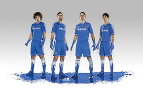 Chelsea Football Players wallpaper