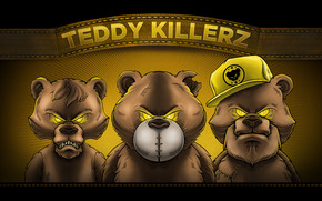 Teddy Killerz Poster wallpaper