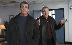 Stallone and Niro in Grudge Match wallpaper