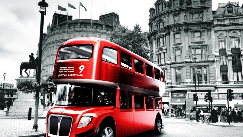 London Bus Design wallpaper