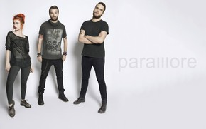 Paramore Band Poster wallpaper