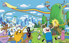 Adventure Time Poster wallpaper