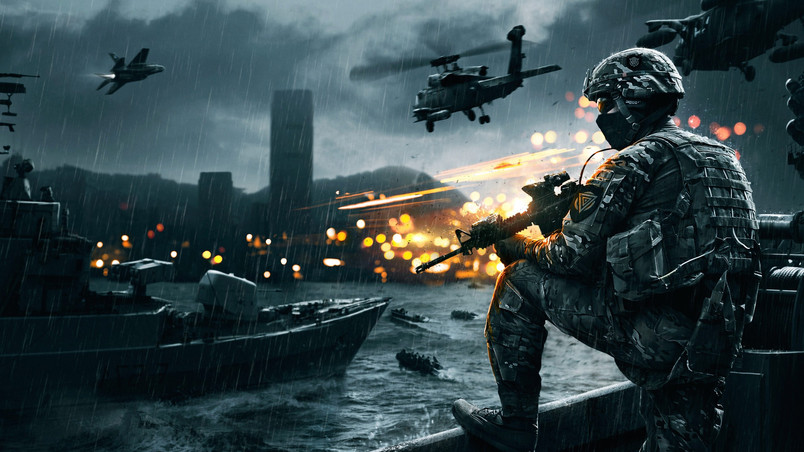 Battlefield 4 Siege of Shanghai wallpaper