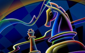 Chess Pieces Drawing wallpaper