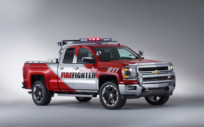 Chevrolet Silverado Volunteer Firefighters Concept