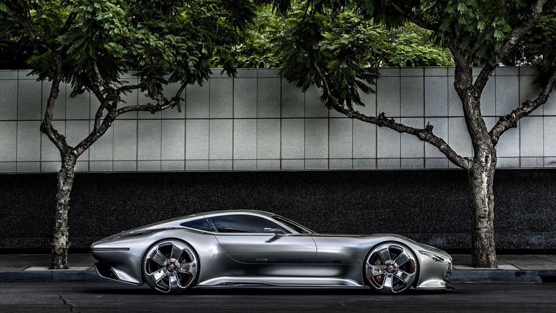 Mercedes AMG Vision GT Side wallpaper