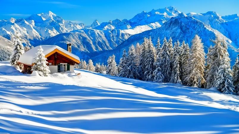 Winter Dreaming Place Hd Wallpaper Wallpaperfx