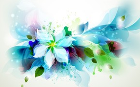 Beautiful Flower Art wallpaper