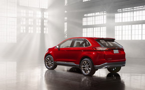 Ford Edge Concept Side View wallpaper