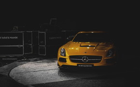 SLS AMG Coupe Black Series wallpaper