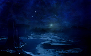 The Blue Cold Night