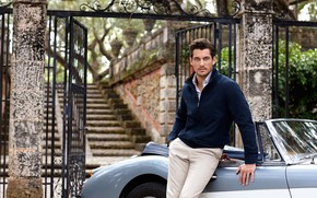 Handsome David Gandy wallpaper