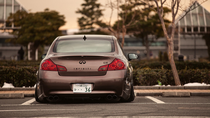 Tuned G35 Infiniti wallpaper