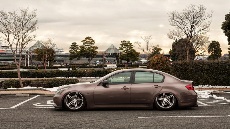 Tuned G35 Infiniti Side wallpaper