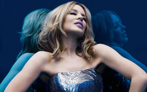 Kylie Minogue Photo Shooting wallpaper