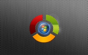 Google Chrome and Windows wallpaper