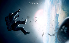Gravity Movie wallpaper