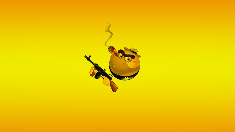 Smoke and Gun wallpaper