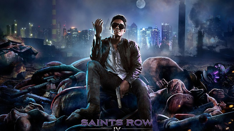 Saints Row 4 Poster wallpaper