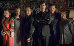 BBC Sherlock Cast wallpaper