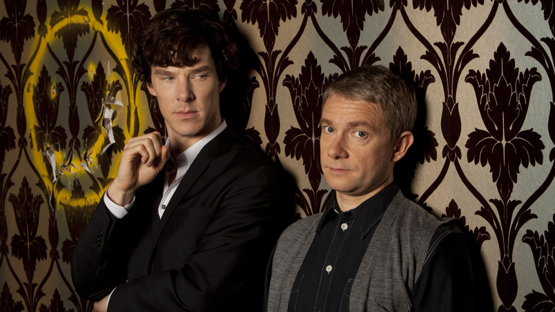 Sherlock and John wallpaper