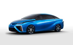 Blue Toyota FCV Concept
