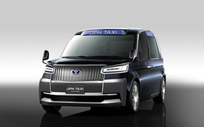 Toyota Japan Taxi Concept Car